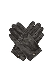 Dents Fleming Hairsheep Leather Gloves Black