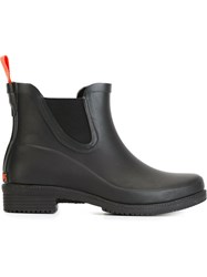 Swims Wellington Ankle Boots Black