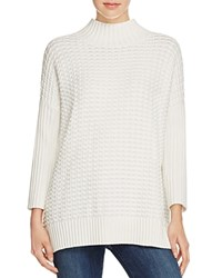 French Connection Mozart Popcorn Sweater Winter White