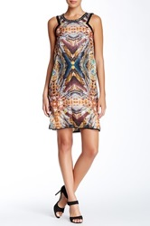 Custo Barcelona Chainlink Sequin Dress Multi