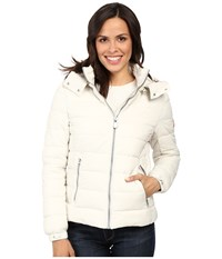 Save The Duck Basic Nylon With Hood Snow White Women's Coat