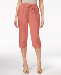 Karen Scott Petite Drawstring Capri Pants Only At Macy's Snap Dragon
