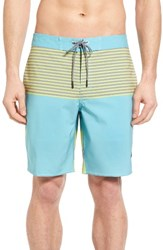Rvca Men's Vice Tri Board Shorts Nile Blue