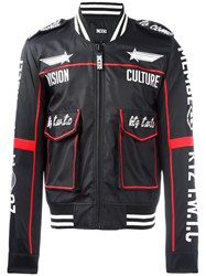Ktz Embroidered Detailing Sport Jacket Black