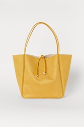 Handm H M Shopper Yellow