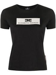 Elisabetta Franchi Boxed Embroidered Slogan T Shirt 60