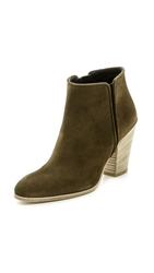 Giuseppe Zanotti Suede Booties Brown