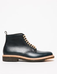 Alden Shields Plain Toe Boot Navy