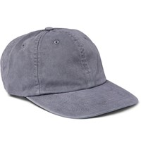 J.Crew Garment Dyed Cotton Twill Baseball Cap Gray