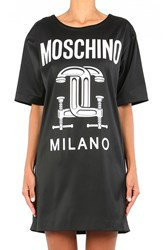 Women's Moschino '2Nd Story' Short Sleeve Graphic T Shirt Dress