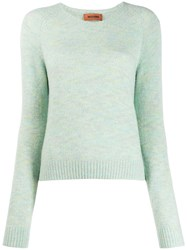 Missoni Crew Neck Jumper Green