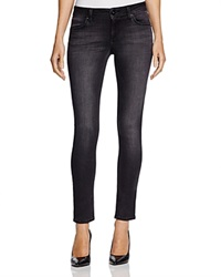 Dl1961 Faded Black Skinny Jeans In Cyclone