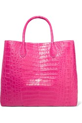 Nancy Gonzalez Medium Glossed Crocodile Tote