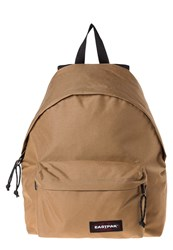 Eastpak Padded Pak'r Leather Rucksack Country Beige