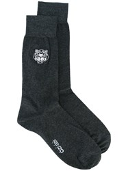 Kenzo Mini Tiger Socks Black