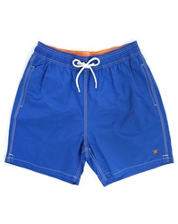 Hackett Royal Blue Solid Volley Swim Shorts