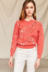 Urban Renewal Vintage Paint Splattered Sweatshirt Assorted
