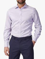 Chester Barrie By Puppytooth Shirt Purple