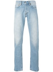 Our Legacy Stonewashed Slim Fit Jeans Blue