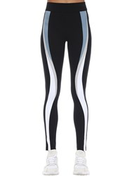 No Ka' Oi Game Stretch Techno Leggings Black