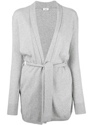 Closed Open Cardigan Grey