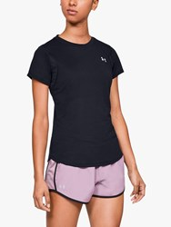 Under Armour Streaker 2.0 Short Sleeve Running Top Black
