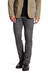 Ganesh Glen Plaid Slim Fit Pant Gray