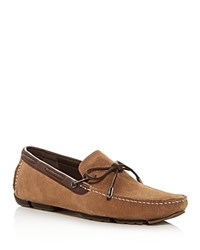 Ugg Bel Air Nubuck Leather Moc Toe Loafers Tan