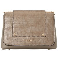 Dune Etania Shoulder Bag Pewter