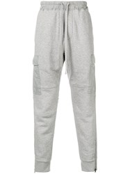Tom Ford Drawstring Fitted Track Trousers Grey