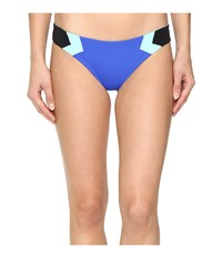 L Space Color Block Barracuda Classic Bottom Royal Women's Swimwear Navy
