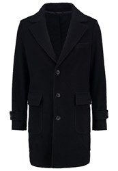 United Colors Of Benetton Classic Coat Navy Dark Blue