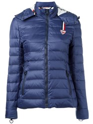 Rossignol W Caroline Quilted Jacket Women Feather Down Nylon Polyester 40 Blue