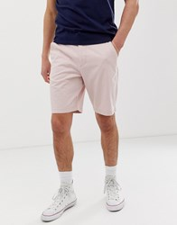 Hollister Chino Shorts In Pink