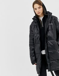 Cheap Monday Recycled Polyester Padded Jacket In High Shine Black