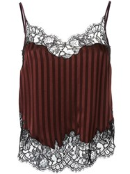 Givenchy Crepe Satin Camisole Red
