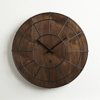 Cb2 Cage Wall Clock