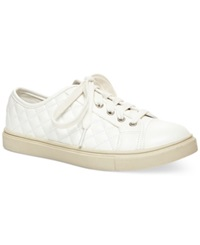 Madden Girl Madden Girl Evette Quilted Sneakers Women's Shoes White