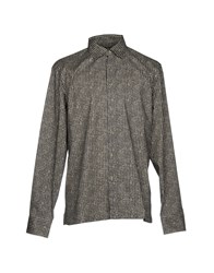 Guess By Marciano Shirts Steel Grey