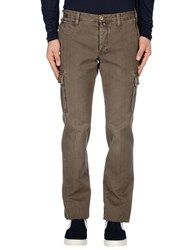 Icon Trousers Casual Trousers Men Dark Brown