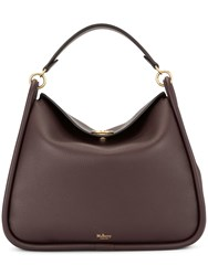 Mulberry Leighton Small Classic Grain Brown