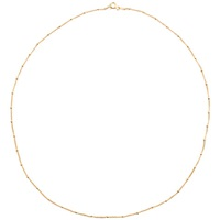 Martick 18Ct Gold Plated Chain Necklace Gold