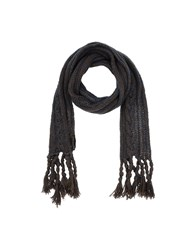 Just Cavalli Accessories Oblong Scarves Women Dark Brown