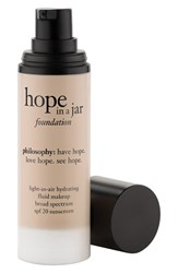 Philosophy 'Hope In A Jar' Light As Air Hydrating Fluid Foundation Spf 20 1 Oz Shade 3