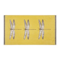 Harlequin Demoiselle Towel Gold And Grey Yellow