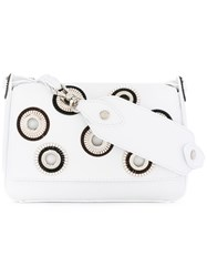 Orciani Montana Shoulder Bag Women Calf Leather One Size White