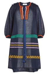 Sonia Rykiel Embroidered Tunic With Cotton