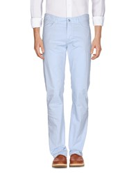 Harmont And Blaine Casual Pants Sky Blue