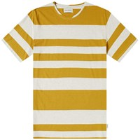 Oliver Spencer Conduit Tee Yellow