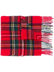 Barbour Checked Scarf Multicolour